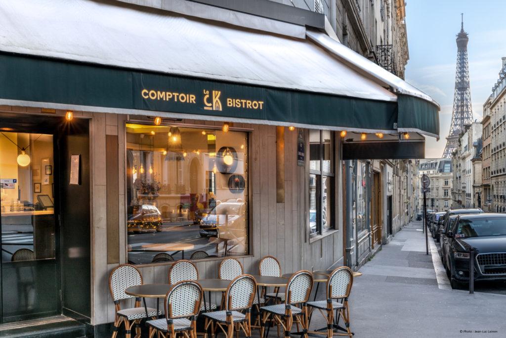 Le CK - Restaurant Paris 16 - Vue extérieure