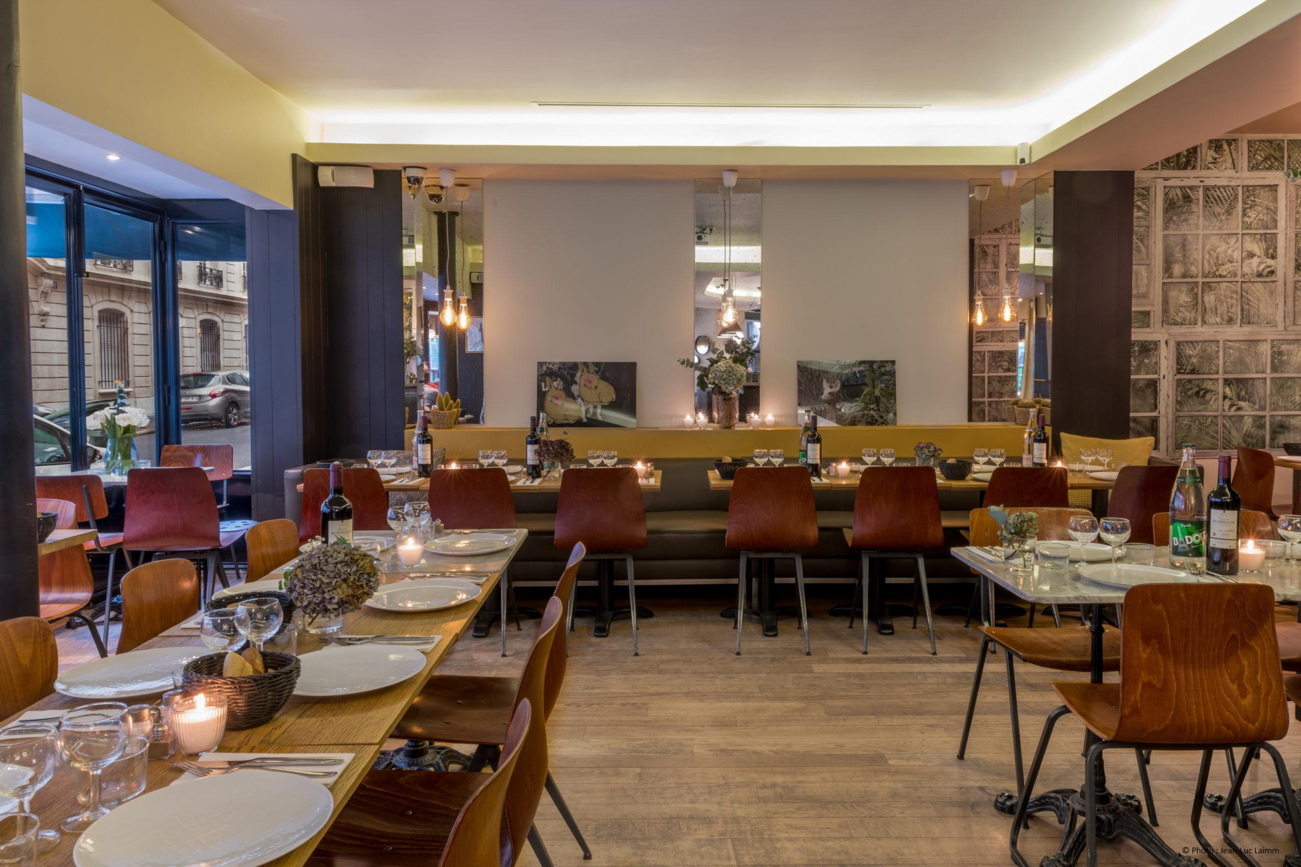 Le CK - Paris 16 - Salle du restaurant