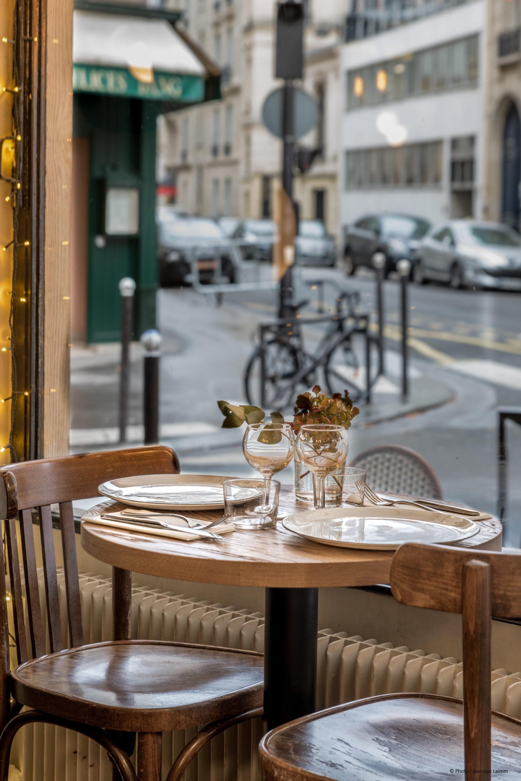 Le CK - Restaurant Paris 16 - Vue sur la rue