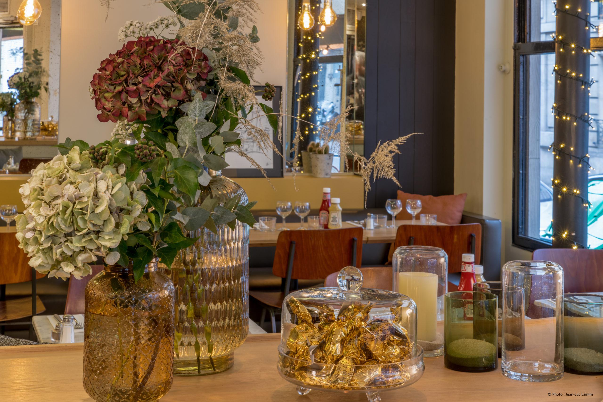 Le CK - Restaurant Paris 16 - Décoration de la salle